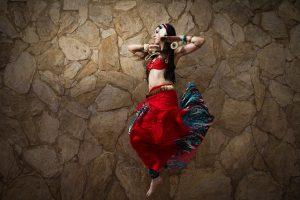 Maquillaje de danza oriental - Maquillaje para eventos y espectaculos (1)
