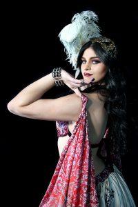Maquillaje danza arabe