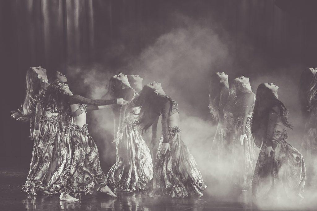 Maquillaje danza oriental almeria