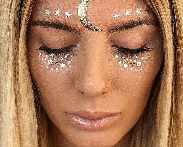 ideas de maquillaje para festival