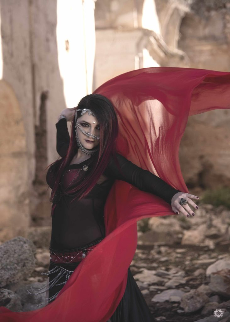 Akzara maquillaje arabe, maquillaje danza oriental fashium