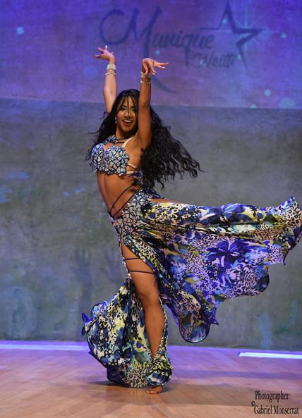 Maquilladora arabe profesional danza oriental