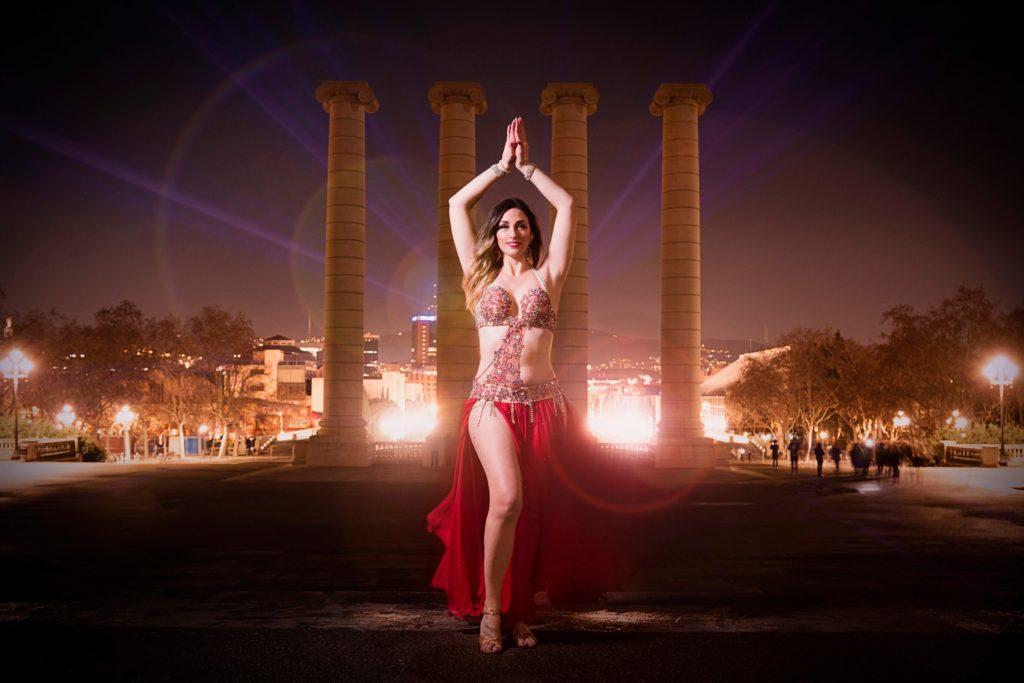 Maquillaje danza oriental en sabadell Barcelona
