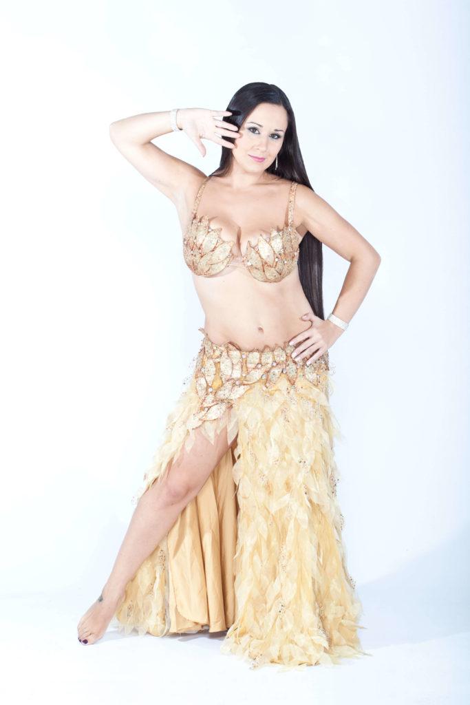 Maquillaje danza Oriental Bailarina